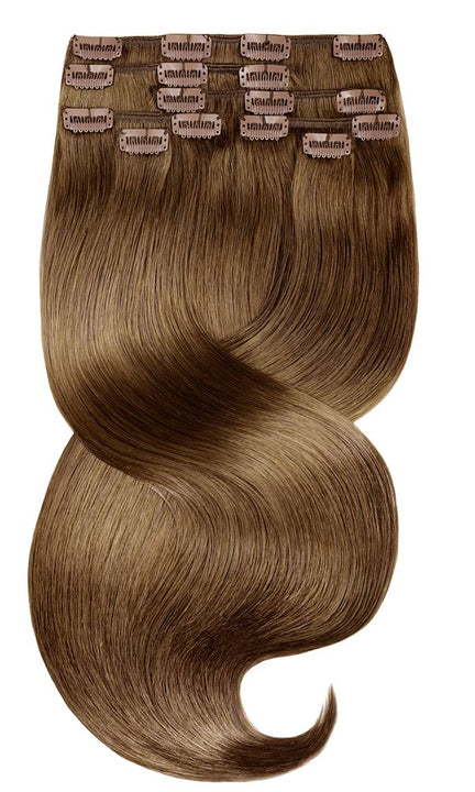 FASHION LINE XL Natur-Goldbraun Clip-in Extensions