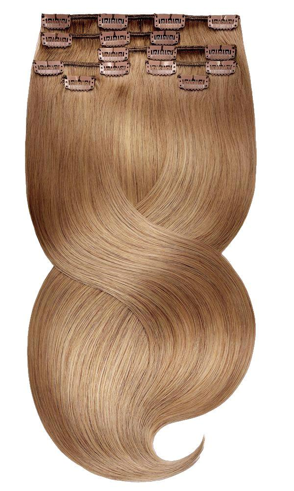FASHION LINE XL Hellbraun-Karamell Clip-in Extensions