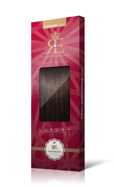 Fashion line XL Schoko-Dunkelbraun Clip-in Extensions
