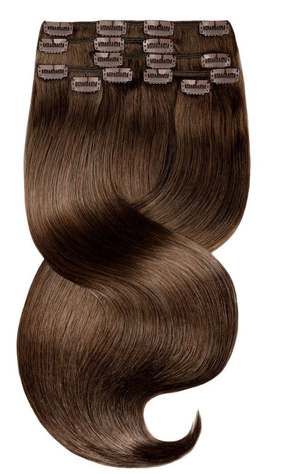 FASHION LINE XL Kastanien-Dunkelbraun Clip-in Extensions