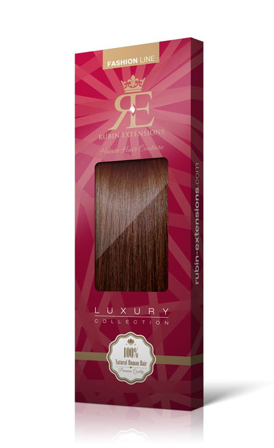 Mahagoni-Braun Fashion Line XL Clip-in Extensions - 100% Echthaar