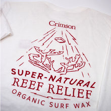Reef Relief Long Sleeve White T
