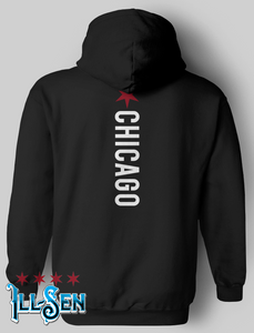 Chicago Backer Pullover Hoodie - Back