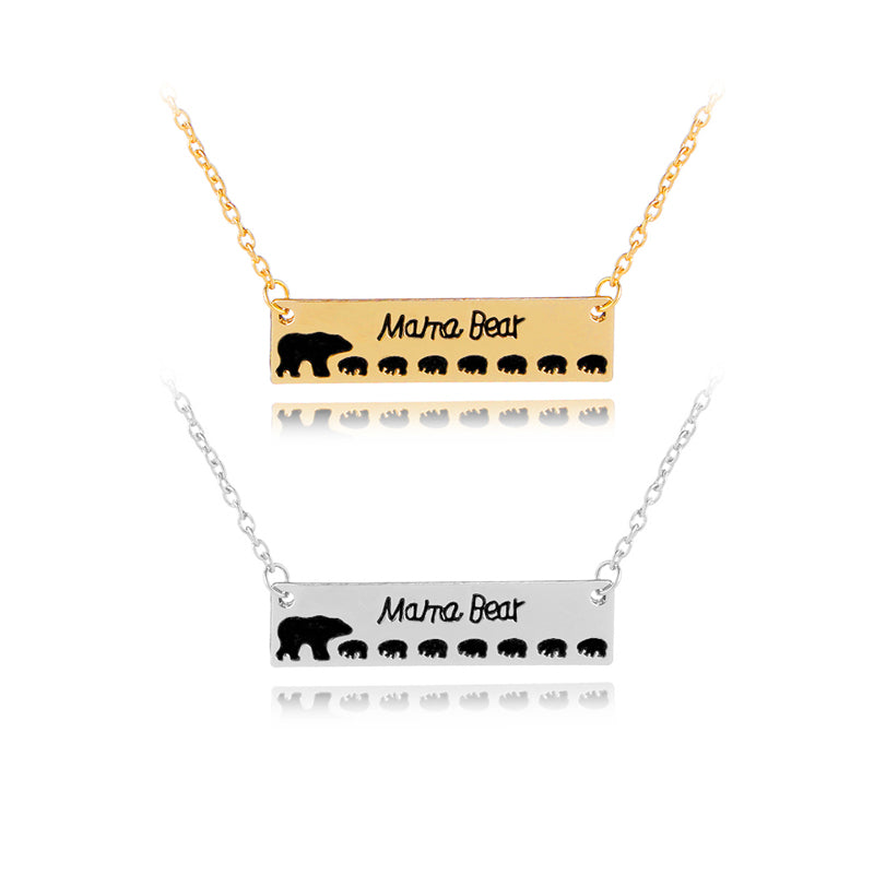 shop horizontal mama vila rosa products necklace women for beautiful bear gold bar minimalist