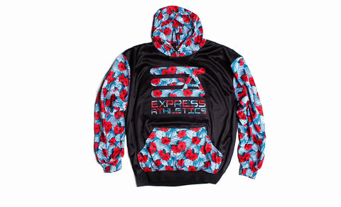 Express Atheltics Full Sublimated Hoodie: Aloha!!