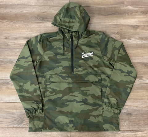 Express Athletics 1/4 Zip Jacket: Camo Edition