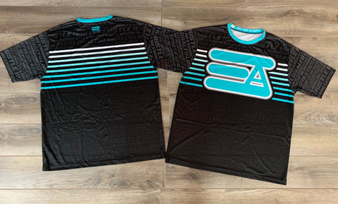 Express Athletics Full Sublimated Jersey: Hustle Teal