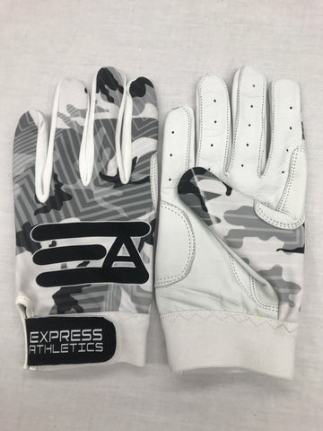 Express Athletics Batting Gloves: Camo Editon