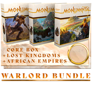 Monumental: Warlord Bundle including Lost Kingdoms, African Empires, & Typhon