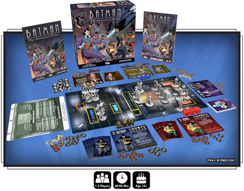 Batman: The Animated Series All-In Bundle with Kickstarter Exclusives