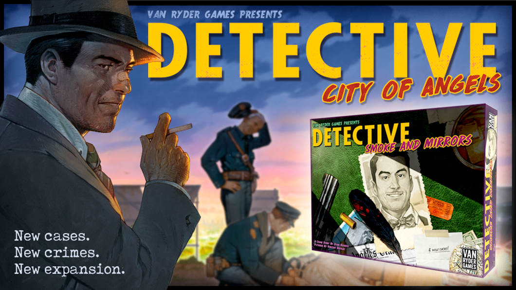 Detective: City of Angels Smoke & Mirrors Wise Head Pledge