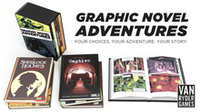 Graphic Novel Adventures (set of five books with slipcase)