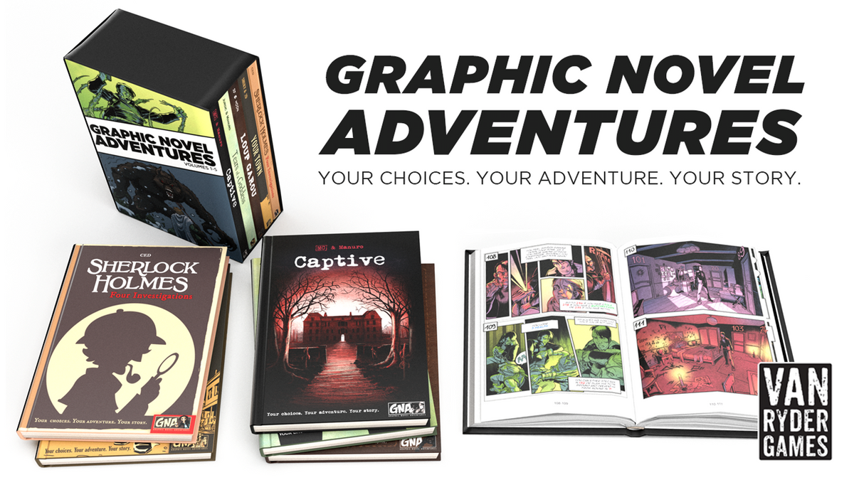 Graphic Novel Adventures Set Of Five Books With Slipcase