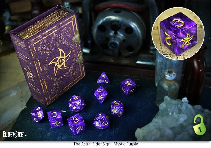 Elder Dice Collector's Set