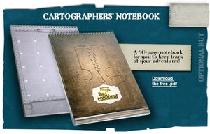 7th Continent: Cartographers' Notebook
