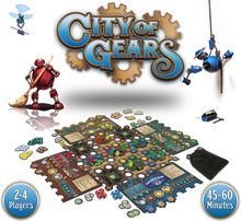 City of Gears - Retail Edition with KS-Exclusive Juggernaut