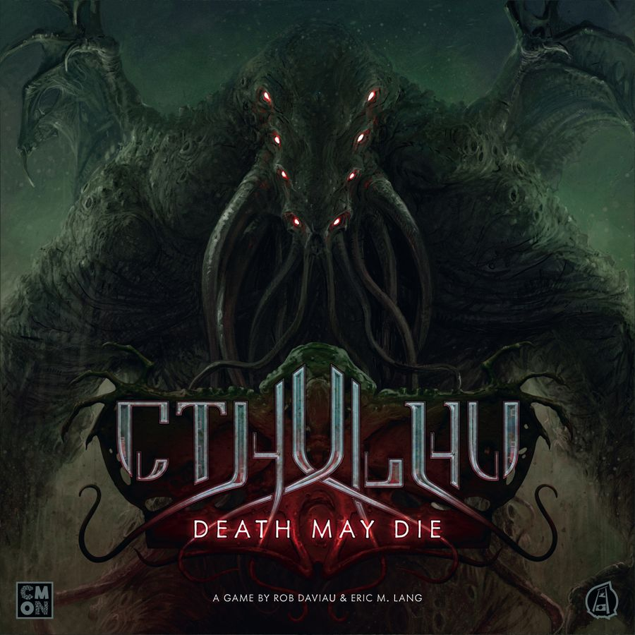 Cthulhu Death May Die All-In Pledge (with R'lyeh Rising statue)