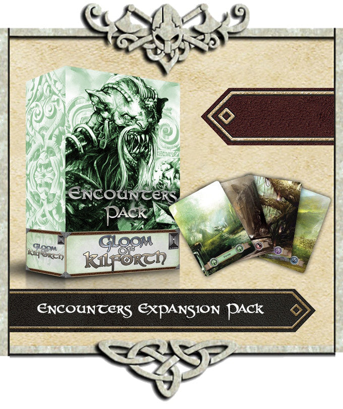 Gloom of Kilforth Encounters Expansion & Stretch Goals