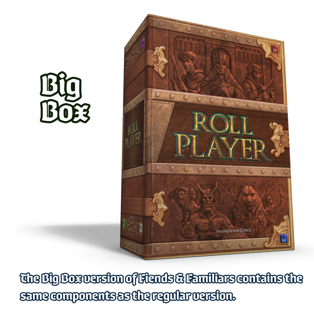 Roll Player All-In Pledge Featuring Big Box