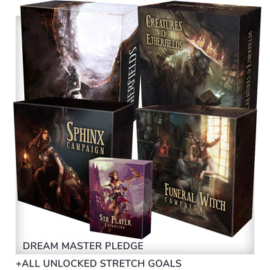 Etherfields Dream Master Gameplay All-In Pledge