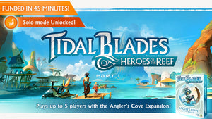 Tidal Blades Deluxe Edition and Angler's Reef Expansion