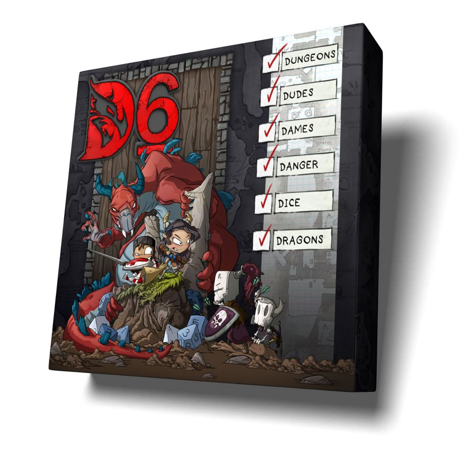 D6: Dungeons, Dudes, Dames, Danger, Dice, and Dragons the Whole Kingdom Pledge