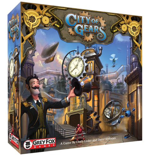 City of Gears - Founder's Edition with KS-Exclusive Juggernaut