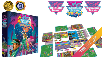Dinosaur Island X-Treme Edition All-In Pledge (w/ Duelosaur Island and Totally Liquid Expansions)