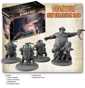 Mythic Battles: Pantheon Ymir, Dinoysus, and Frozen Battle Dice Expansions