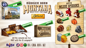 Montana: Heritage Edition with Premium Metal Coins