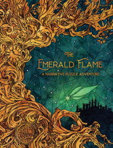 The Emerald Flame: A Narrative Puzzle Adventure