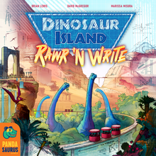 Dinosaur World and Dinosaur Island Rawr 'n' Write