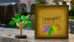 Stumped: A Deck-Building Game with Buildable Wooden Trees