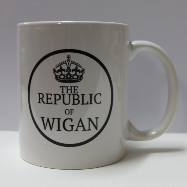 Republic Of Wigan mug