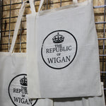 The Republic of Wigan Tote Bag