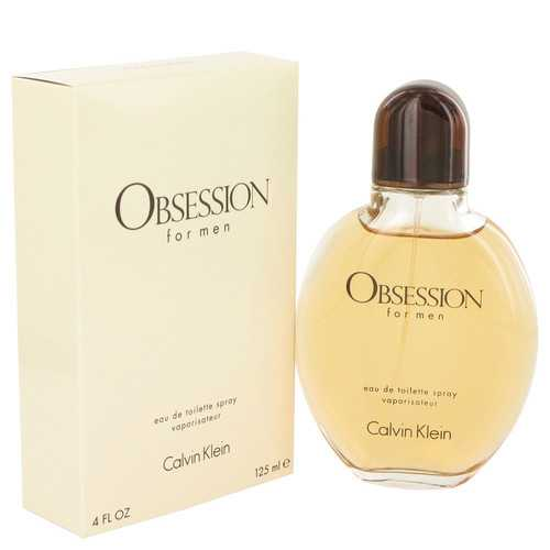 OBSESSION by Calvin Klein Eau De Toilette Spray 4 oz (Men)
