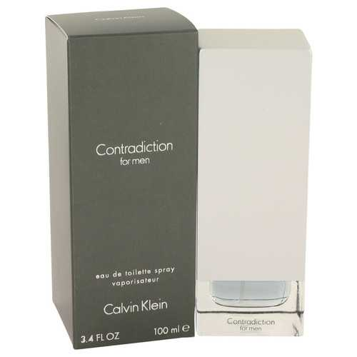CONTRADICTION by Calvin Klein Eau De Toilette Spray 3.4 oz (Men)