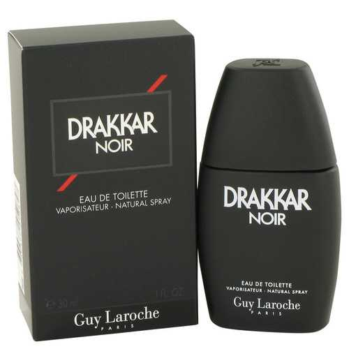 DRAKKAR NOIR by Guy Laroche Eau De Toilette Spray 1 oz (Men)