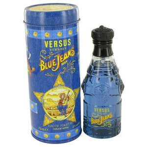 BLUE JEANS by Versace Eau De Toilette Spray (New Packaging) 2.5 oz (Men)