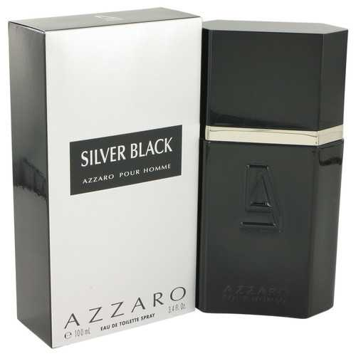 Silver Black by Azzaro Eau De Toilette Spray 3.4 oz (Men)