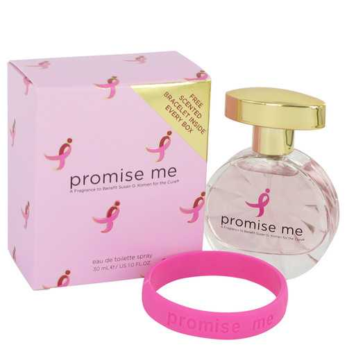 Promise Me by Susan G Komen For The Cure Eau De Toilette Spray 1 oz (Women)