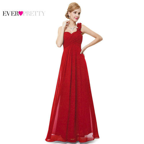 [Clearance Sale] Ever Pretty Elegant Women Evening Dresses Sexy Chiffon A Line Backless Formal Party Evening Dress