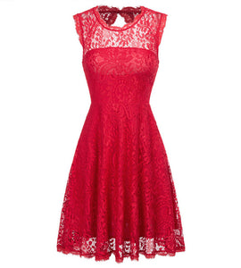 Grace Karin Short Evening Dresses 2018 Prom Gowns Backless Vestidos Red Formal Dress Wedding Party Lace Special Occasion Dresses