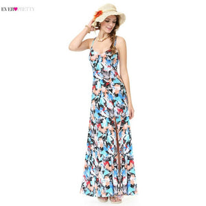 [Clearance Sale ]Ever Pretty Beach Style Evening Dresses 2018 Summer New Arrival Fashion Women Casual Dress for Party AS08906SW