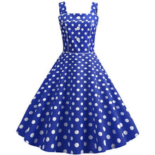 Vintage Dress 2019 Casual Summer Floral Women Robe 50S 60S Rockabilly Swing Pinup Vestido Patchwork Elegant Party Dress