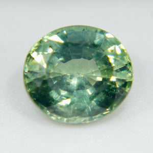 Natural Green Sapphire | Oval Cut | 6.33x5.13 mm | 0.94 Carat | Unheated Untreated Sapphire | Engagement Rings | Sapphire Ring | Loose Stone