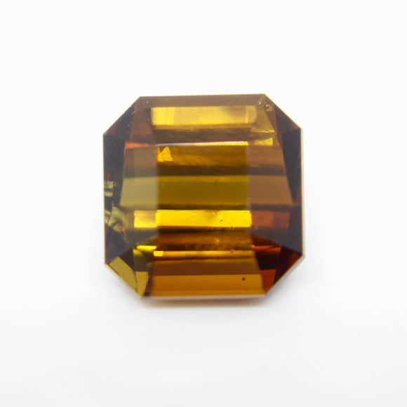 Natural Golden Brown Tourmaline | Asscer Cut | 12.05mm | Eye Clean | Untreated
