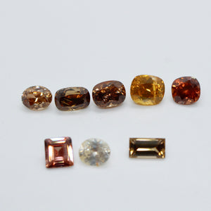 Natural Mix Colour Zircon | 22.65 Carats | Unheated Gemstones | Zircon Rings