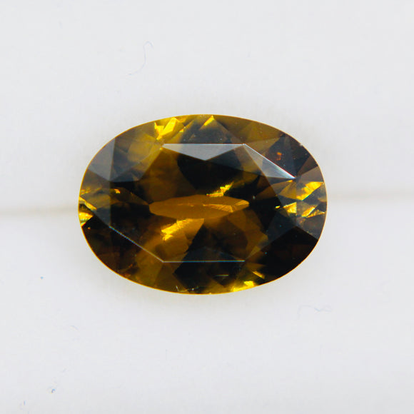 Natural Brownish Yellow Zircon | Oval Cut | 11.00x8.00 mm | 3.00 Carat | Loose Gemstone | Untreated | Natural Zircon Rings | Loose Gemstone