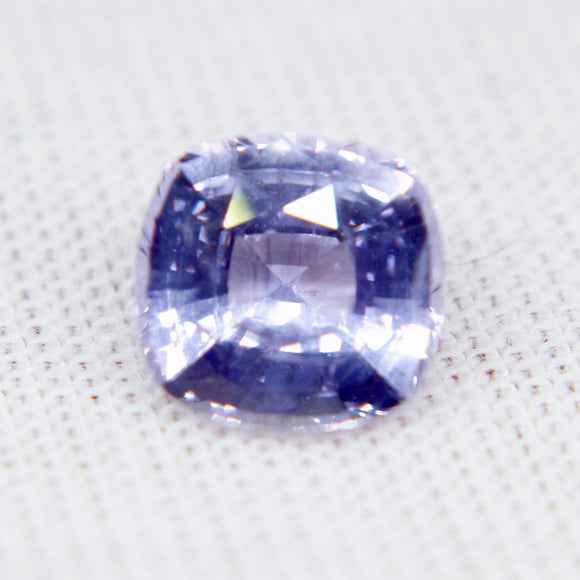 Beautiful Unique Natural Lilac Sapphire | Cushion Cut | 7.40x7.00 mm | 1.75 Carat | Loose Gemstone | Unset Sapphire | Unheated Sapphire